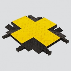 Yellow Jacket 5 Channel Heavy Duty 4-Way Crossover (YJ5X-125-Y/B)
